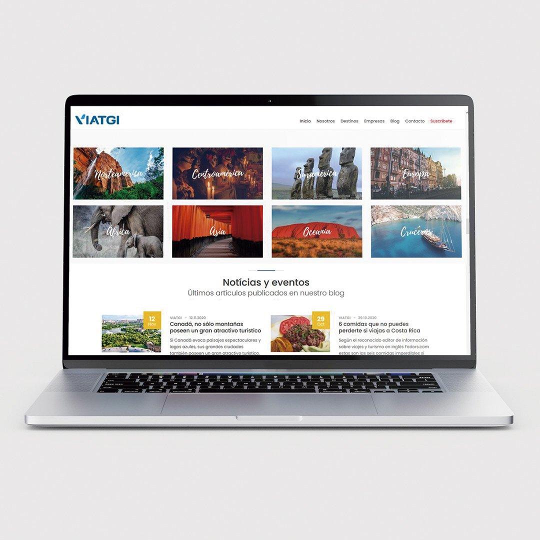 Viatgi - Diseño Web